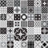Ogromny Bezszwowy patchworku wzór ilustracji