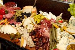 Ogromny Foods bufet zdjęcie royalty free