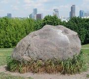 Ogromny granitu kamień ustawia na górze Taurus gór Obraz Stock