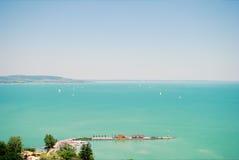 Ogromny jezioro Obrazy Royalty Free