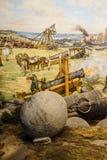 Ogromny oblężniczy działo używać w definitywnym napadzie Fotografia Stock