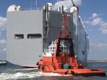 ogromny statek Obraz Royalty Free