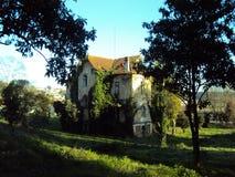 Ogromny zaniechany dom Fotografia Stock