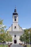 Ogulin教会 免版税库存照片