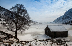 Ogwen lake Royalty Free Stock Images