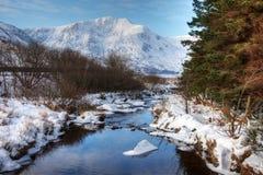 Ogwen river Stock Images