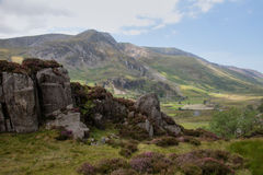Ogwen Valley Royalty Free Stock Photography
