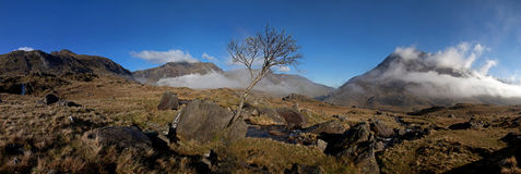 Ogwen valley Stock Images