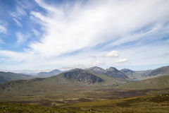 Ogwen Valley view Stock Photography