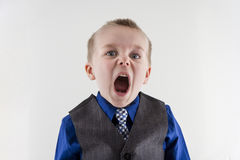 Oh the anger Royalty Free Stock Image
