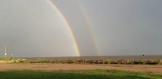 Oh arcobaleni di amore del dio i fotografie stock