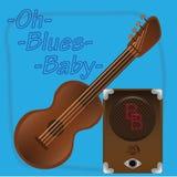 Oh azuis baby2 Fotos de Stock Royalty Free