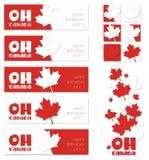 Oh Canadá ilustração royalty free