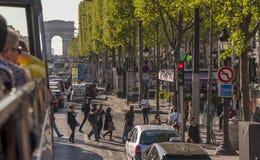 Oh, Champs Élysées ... Royalty Free Stock Photo