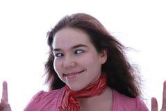 Oh, diese verrückten Augen! Lizenzfreie Stockbilder