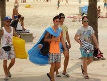 Oh, dieses Majorca!! Sie ist für jeder für junges und nicht so schön stockbilder