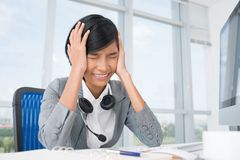 Oh, I'm so tired! Stock Photo