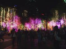 Oh Kerstmislichten Royalty-vrije Stock Afbeelding