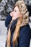 Oh la neve comincia a cadere Immagine Stock