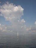 Oh le seigneur, mon bateau est si petit Photo libre de droits