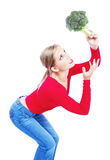 Oh my broccoli Stock Images
