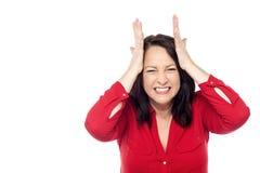 Oh My God, This Headache ! Stock Photos