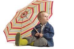 Oh numéro, il pleut Photographie stock libre de droits