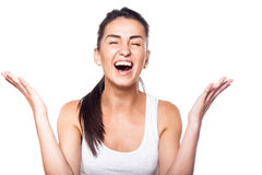 Oh wow, I won! That's incredible!.  Stock Photo