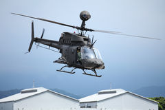 OH58 Helicopter Stock Image