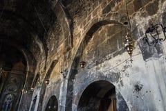 Ohanavan,亚美尼亚, 2017年9月15日:内部的片段  库存图片