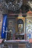 Ohanavan,亚美尼亚, 2017年9月15日:内部的片段  免版税库存照片