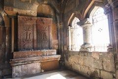 Ohanavan,亚美尼亚, 2017年9月15日:内部的片段  库存照片