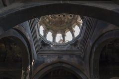 Ohanavan Armenien, 15th September 2017: Sikt från insidan av Arkivbild