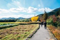Ohara wsi wioska w Kyoto, Japonia fotografia stock