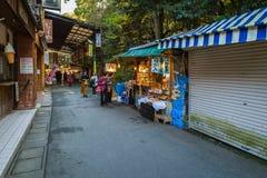 Oharai-Machistraat in Ise City, Mie Prefecture, Japan Stock Afbeelding