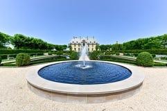 Oheka Castle Grounds Royalty Free Stock Photos