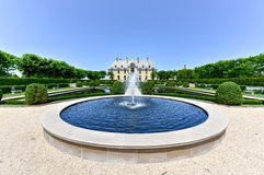 Oheka Castle Grounds Royalty Free Stock Photos