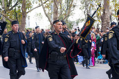Ohi Day parade in Thessaloniki Stock Images