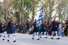 Ohi Day parade in Thessaloniki Stock Photo