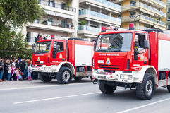 Ohi Day parade in Thessaloniki Royalty Free Stock Images