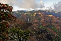 ` Ohi-` a und Waipo-` O fällt lizenzfreie stockfotos