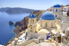 Ohia / Oia - Santorini Stock Photos