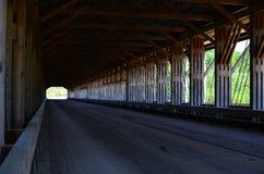Ohio-überdachte Brücke Stockfotografie
