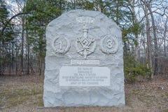Ohio Battalions. Royalty Free Stock Photo