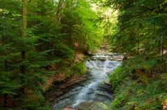 Ohio Bridalveil falls stock photography