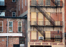 Ohio-Buchladen Stockbild