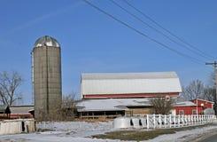 Ohio dairy farm. Image of a dairy farm in Ohio Stock Photo