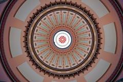 ohio för färgrik kupol rotunda statehouse Royaltyfri Fotografi