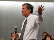 Ohio Governor John Kasich in Dayton Feb 16, 2011 Royalty Free Stock Image