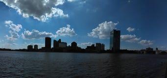 ohio linia horyzontu Toledo fotografia stock